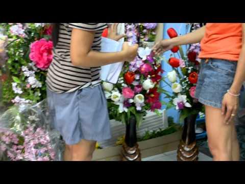 ร้านดอกไม้ จัดดอกไม้พลาสติก