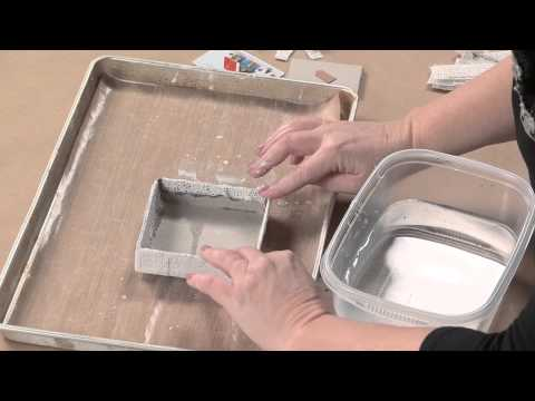 Learn Plaster Assemblage Techniques from Kristen Robinson