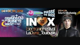 Martin Solveig Live Inox Electronic Festival 04-05-2012 Toulouse France