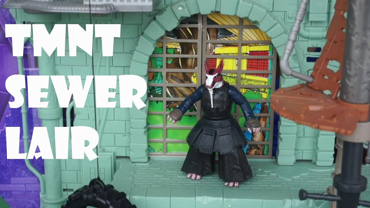 Tmnt secret sewer lair playset review unboxing toylab101 youtube