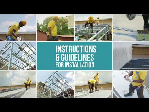Lotus Roofings – Installation Demo Video