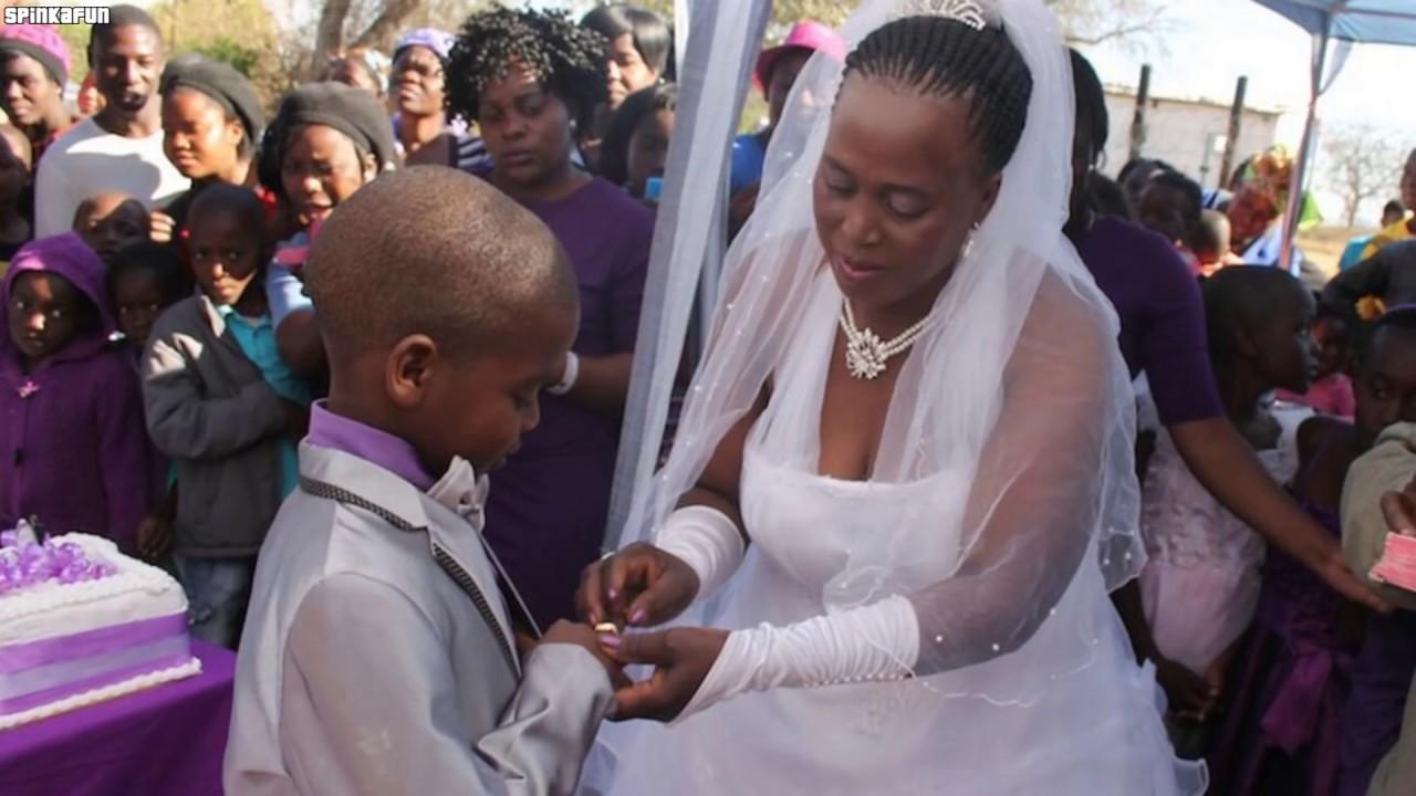 8-latek poślubił BABCIĘ! Najdziwniejsze pary świata, w których istnienie nie uwierzysz!