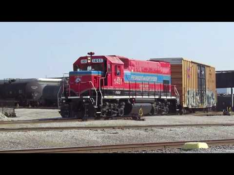 FTRL Railway Switches Anheuser-Busch St. Louis - July 21, 2017