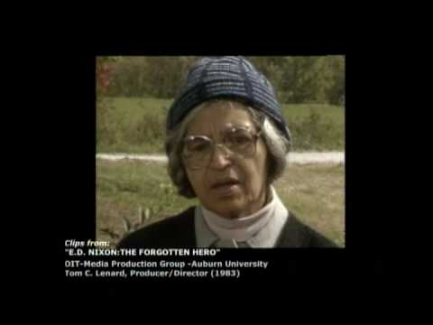 E.D. Nixon: The Forgotten Hero (short clip) 1983