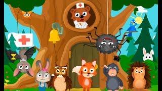 ЛИСЕНОК ВЕТЕРИНАР клиника для животных мультик игра для детей с говорящей кошкой
