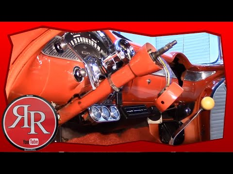 55 chevy steering column assembly youtube Chevrolet Idler Arm