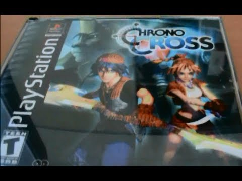 Chrono Cross PS1 Unboxing