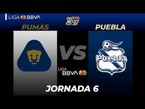 U.N.A.M. Pumas Puebla Goals And Highlights