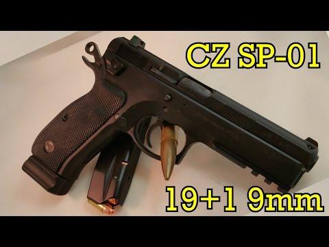 CZ 75 SP-01 Tactical 9mm Review