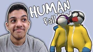 الدب المحشش..!!! هههههههههههههه..!!! | Human Fall Flat