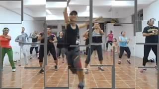 ZUMBA CON EL SERRUCHO Y HECTOR DANCE