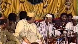 NUSRAT FATRH ALI KHAN LIVE IN SABRI DARBAR CLASSICAL P1