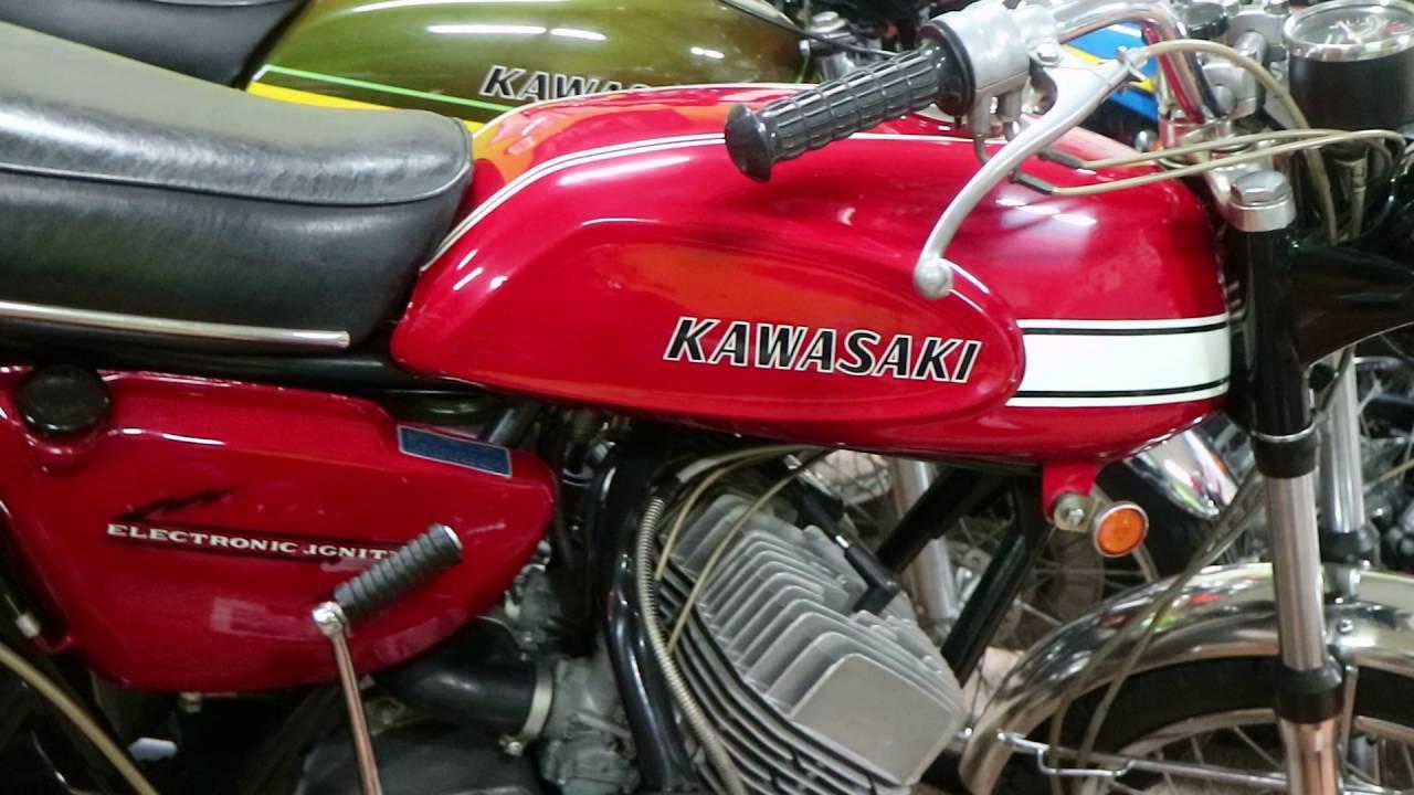 Rick Brett's Collection of Kawasaki Triples – Bike-urious