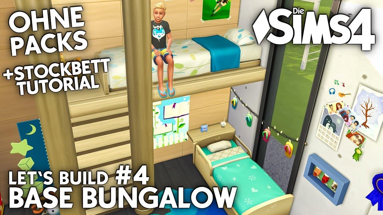 Stockbett Die Sims 4 Haus Bauen Ohne Packs