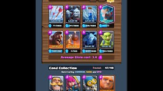 clash royale hog cycle deck with ice wizard