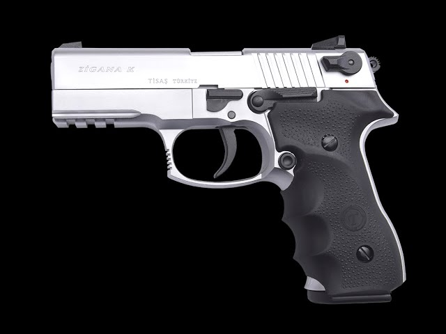 Zigana K 9mm semi auto and fully auto pistol test fire