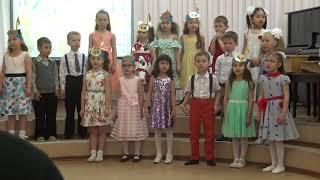 Выступление в музыкальной школе.