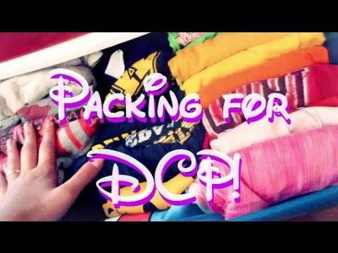 Packing for the DCP! (Fall 2016)