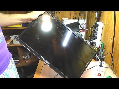 Телевизор Thomson T22D16DF-01B  | Нет изображения / Нет подсветки