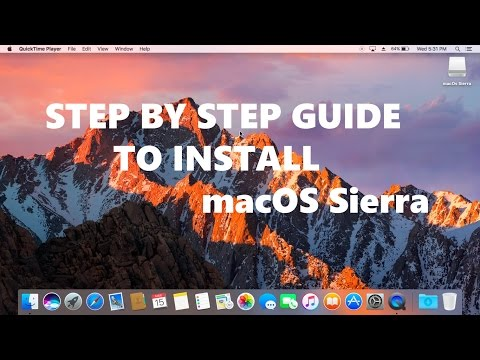 Detailed Step by Step Guide to install macOs Sierra on Any