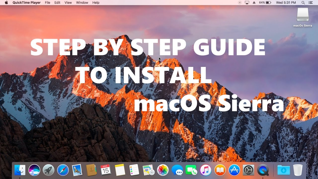 Detailed Step by Step Guide to install macOs Sierra on Any Dell Laptop