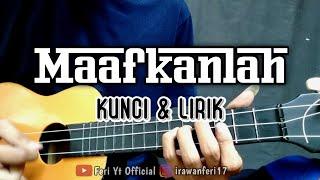 Reza Re - Maafkanlah (Kunci & Lirik) cover kentrung ukulele by Feri Yt Official