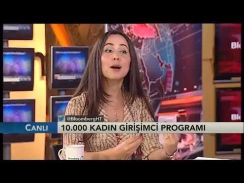 Bloomberg HT - İş Dünyası - 10.000 Kadın Türkiye Program Yöneticisi İmge Kaya Sabancı