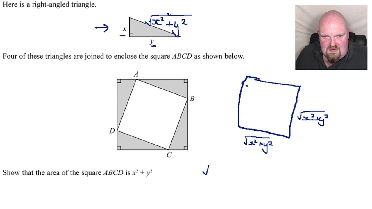 essay on pythagoras theorem 122 proofs of the pythagorean theorem:  the pythagorean (or pythagoras') theorem is the statement that the sum of (the areas of) the two small squares equals.