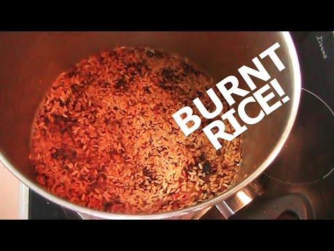 BURNT POT: How To CLEAN A BURNT POT!!!