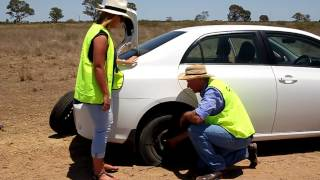 How to change a tyre