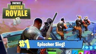 KNAPPE SIEGE - Fortnite: Battle Royale [German/HD]