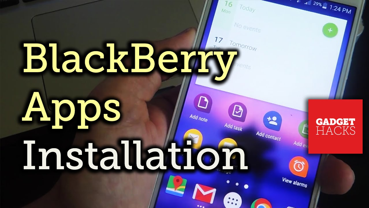 How to Install BlackBerry Priv Apps on Any Android « Android