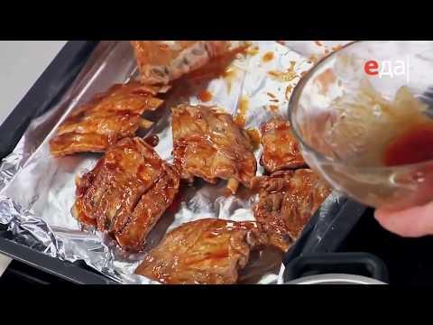 Маринад для свиных ребрышек рецепт от шеф-повара / Илья Лазерсон