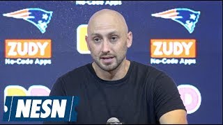 Brian Hoyer Patriots vs. Redskins preseason postgame press conference