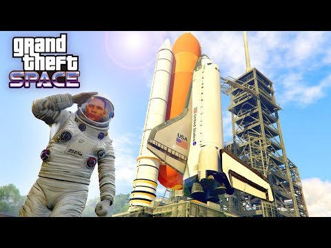 GTA V SPACE MOD! - EXPLORING THE GALAXY! - Gta 5 Mods