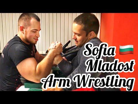 World Champs In Sofia 🇧🇬 - Arm Wrestling Mladost - W. Stoyan Golemanov, Georgi TSVETKOV, Valentin