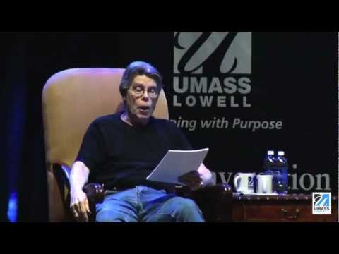 "Stephen King Premieres ""Afterlife"" at UMass Lowell"