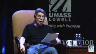 """Stephen King Premieres """"Afterlife"""" at UMass Lowell"""