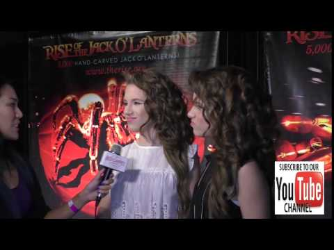 Bianca D'Ambrosio and Chiara D'Ambrosio at the Rise Of The Jack O'Lanterns at Los Angeles Convention