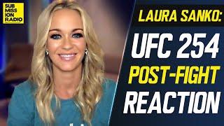 REACTION: UFC 254 Khabib vs. Gaethje, Khabib Retirement Post-Fight w/ Laura Sanko