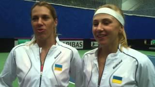 Комментарии Людмилы Киченок и Ольги Савчук после победы над словенками