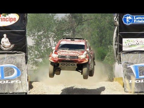 NASSER AL- ATTIYAH / TOYOTA HILUX OVERDRIVE / WINNER  23°ITALIAN BAJA 2016  ( HD )