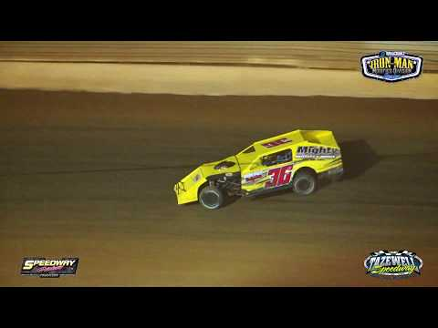 Tazewell Speedway | Buddy Rogers Memorial | Iron Man Modified | Sept  1, 2019