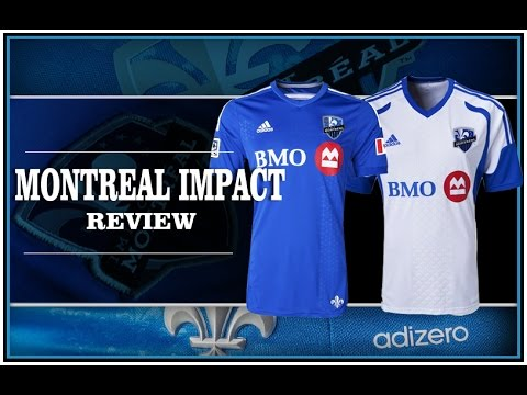 huge discount 40ffa 036b2 MONTREAL IMPACT Soccer Review Jersey home & away 2015