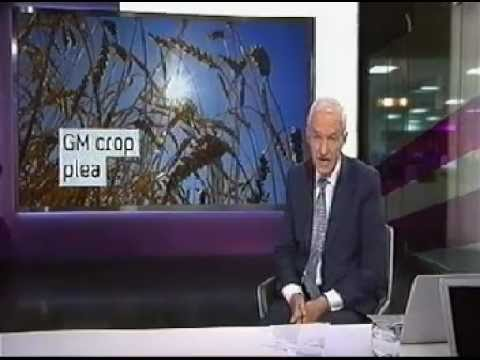 Take the flour back GM crops mass action - Ch4 News