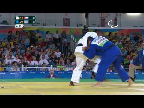 Judo | Men - 73 kg | CUB X ARG  Preliminary | Paralympics Rio 2016