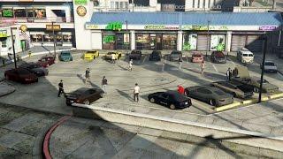 Grand Theft Auto V Online (PS4)   Street Car Meet Pt.6, Road Trip, Drag Racing, Ride Alongs & More