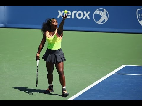 Serena Williams vs Simona Halep - FINAL CINCINNATI 2015 Highlights