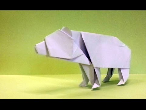 How To Make An Origami Bear