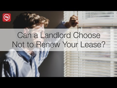 Can a Landlord Choose Not to Renew Your Lease?